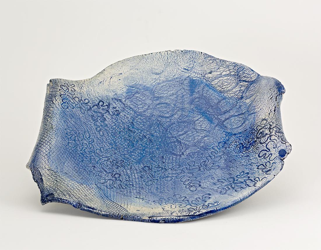 Centro-tavola-blu